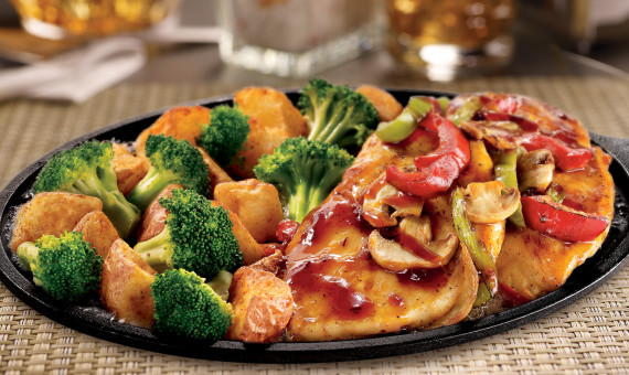 Bourbon Chicken Skillet
