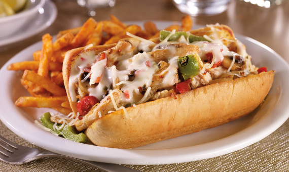 Chicken Philly Melt