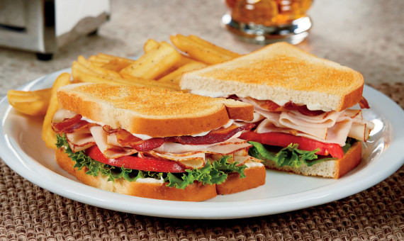 Senior Club Sandwich